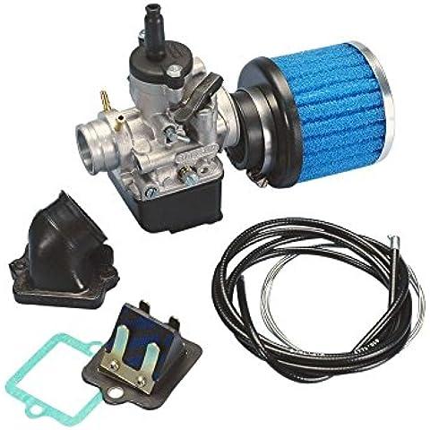 Kit Carburatore POLINI 25mm per Piaggio, Gilera, Aprilia, Derbi, Italjet