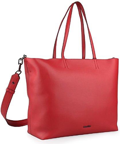 Calvin Klein , Sac pour femme à porter à l'épaule Rouge rouge 49 x 31 x 17 cm