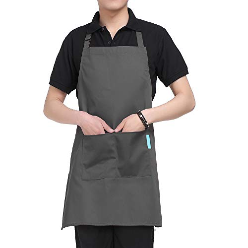 Esonmus Adultos Poliéster Cocina BBQ Restaurante