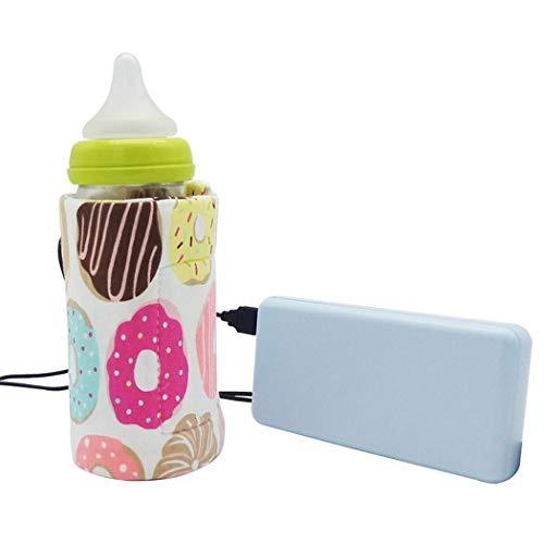 rokirs Tragbare Outdoor-Thermostat-USB-Feeding-Flasche Isolierhülsen-Flaschenabdeckung Flaschenwärmer & -abkühler