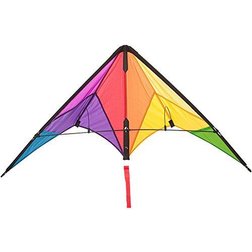 Invento 112324 - Calypso II Radical, Lenkdrachen, Ab 8 Jahren, 59 x 110 cm Ripstop-Nylon 2-5 Beaufort