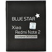 Blue Star Premium - Batería de Li-Polymer litio 3020 mAh para Xiaomi Redmi Note 2 / Note 2 Prime