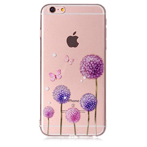 Cover iPhone 6/ 6s Plus, Sportfun morbido protettiva TPU Custodia Case in silicone per iPhone 6/ 6s Plus (modello 5) modello 3
