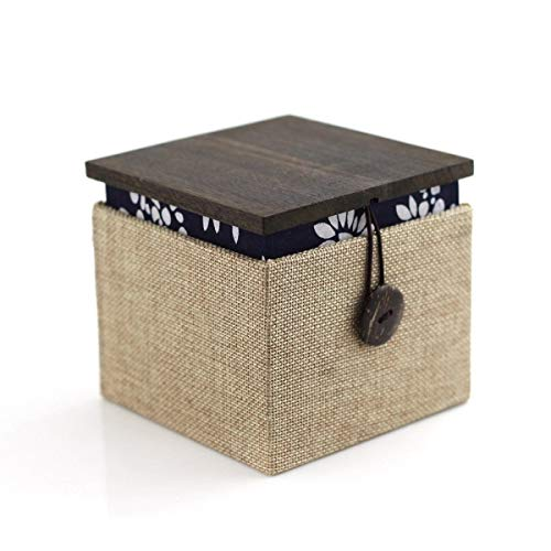 XXHSS Hölzerne High-End-Atmosphäre Retro nationalen Wind handgemachte Box Schmuckschatulle Display Box Uhrenbox Armband Halskette Schmuckschatulle (Hölzerne Männer Armbänder)