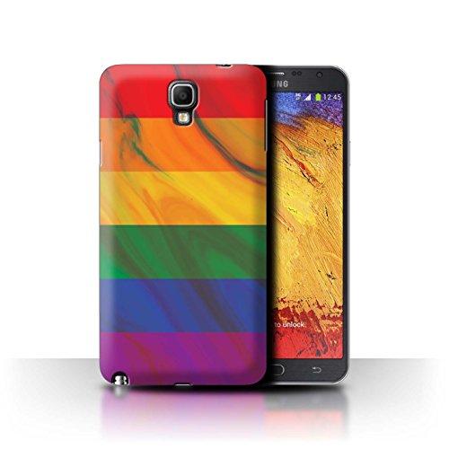 Gay Pride Zubehör - Stuff4® Hülle/Case für Samsung Galaxy Note