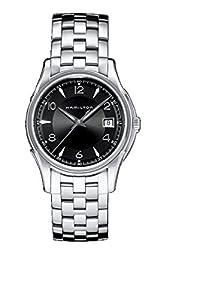 Hamilton H32411135 - Reloj de cuarzo para hombre, correa de acero inoxidable color plateado de Hamilton
