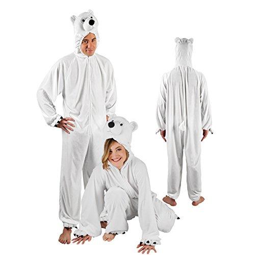 NEU Herren-Kostüm Eisbär Gr. (Eisbär Machen Kostüm)