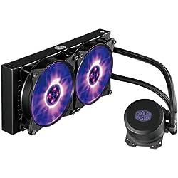 Cooler Master MasterLiquid ML240L RGB - Sistemas de refrigeración líquida '240mm Ventilador, All-In-One, LED RGB' MLW-D24M-A20PC-R1