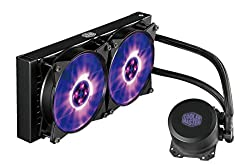 Cooler Master Masterliquid Ml240l Rgb Wasserkühlung '240mm Radiator, All-in-one, Rgb Led' Mlw-d24m-a20pc-r1