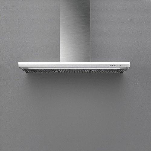 Falmec - Cappa da Parete Lumen in Acciaio Inox da 120cm e Potenza 800m3/h