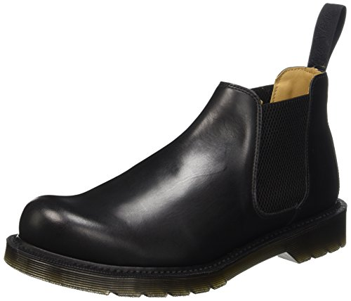 Dr. Martens Kingston Cromwell, Low-Top Chaussures Homme Noir (Noir Polished)