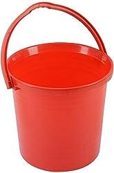 ASVK Plastic Bucket (18 Litres, Red, Blue ,Green)