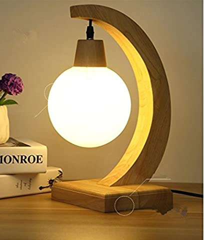 WEIMEI la créativité moderne de la lampe de bureau en bois massif étude de chambre à coucher protection oculaire personnalisée lumière de nuit