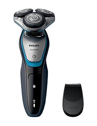 Rasoir Electrique Etanche - Philips S5400/06 Rasoir électrique Aquatouch 100%