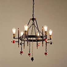 Iron Ladies European Style pranzo Chandelier creativo