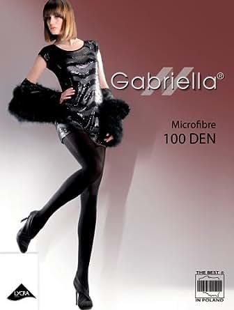 Gabriella collants MICROFIBRE, 100den, Taille S, Cappuccino