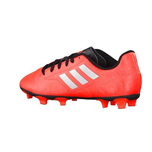 adidas Kinder Fussballschuhe Conquisto II FG Solar Red/Silver Met./Core Black