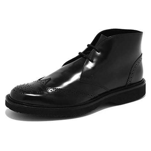 4914G polacco uomo nero HOGAN h 217 route derby scarpa uomo shoes men Nero