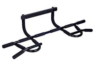 multi gym t rreck stange reckstange klimmzugstange f r die t rmontage schwarz. Black Bedroom Furniture Sets. Home Design Ideas