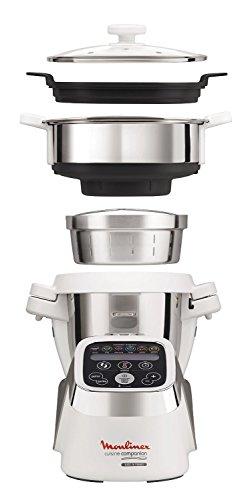 Opiniones moulinex hf802aa1 cuisine companion robot de for Moulinex robot cocina