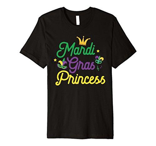 Mardi Gras Prinzessin süße Funny Mädchen Mardi Gras T-Shirt Geschenk