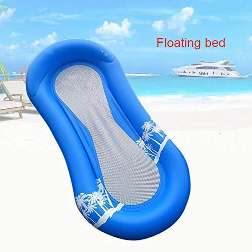hwimmer Hängematte Bett, Strand Schwimmende Freizeithose Flöße Rückenlehne Lehnstuhl Wasser Sofa, Sonnenbaden Tanning Kissen Schlafende Stuhl für Kinder Erwachsene Pool Party ()