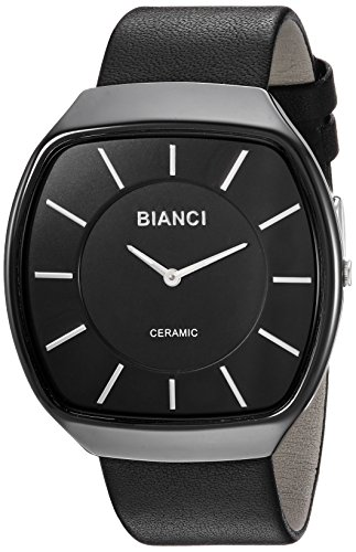ROBERTO BIANCI WATCHES Women's 'Vitalia' Quartz Ceramic and Silicone Casual Watch, Color:Black (Model: RB28702)
