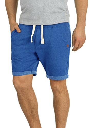 Blend Timo Herren Sweatshorts Kurze Hose Jogginghose mit Fleece-Innenseite und Kordel Regular Fit, Größe:L, Farbe:Great Blue (74651)