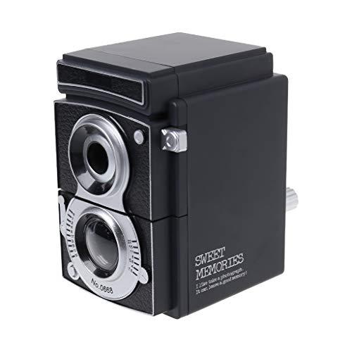 Lápiz vintage con forma de cámara de fotos antideslizante