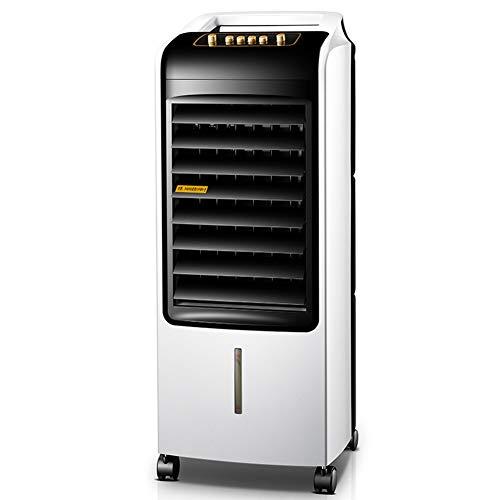 HAIPENG Mobile Tragbare Klimaanlage Klimagerät Luftkühler Lüfter Tragbar Handy Mobiltelefon Verdampfend 3 In 1 Multifunktion, 80W (Farbe : Weiß, größe : 30.5x28x74.5cm)