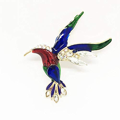Women's Eagles Kostüm - Ludage Exquisite Brosche Mode-Glasur Tropfen Öl Emaille Dapeng Flügel Vogel Brosche Eagle Kingfisher Brosche Pin Kostüm-Zubehör