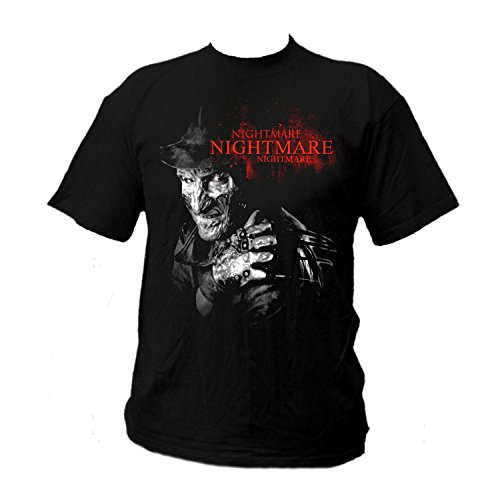 Camiseta de Freddy negro medium