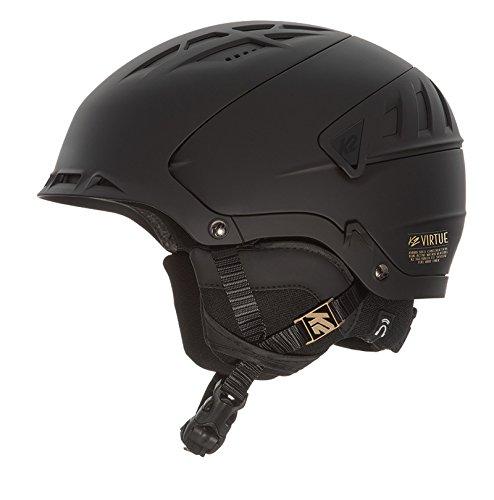 K2 Skis Damen Helm Virtue Skihelm, Black, S -