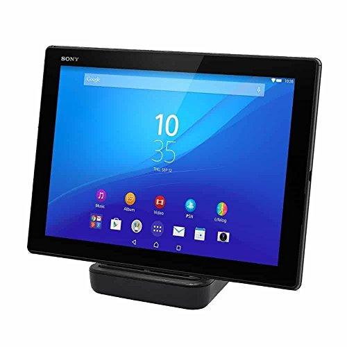 I-Sonite (Schwarz) Neues Design Tablet Desktop Ladegerät für Micro-USB-Anschluss Basis mit Schieberegler Verstellbare Port Stand Ladestation Station und Data Sync für Chromo Inc 7'' (Cover Tablet 7 Chromo)