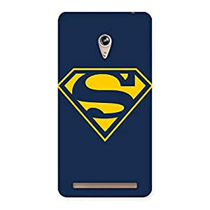 The Awesome Yellow Super Log Back Case Cover for Zenfone 6