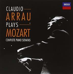 Claudio Arrau plays Mozart - Complete Piano Sonatas [Import allemand]