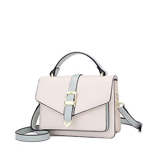 Wild Messenger Bag, Student Student Umhängetasche Beige Weiß 20,5 * 15,1 * 6,8 cm