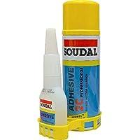 Soudal 2c adhesive (Spray 200ml and glue 50g)