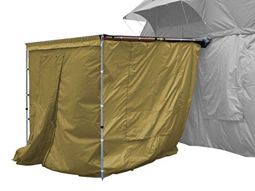 Seitenwände zur Dachzelt-Markise beige 150x200x210cm Prime Tech