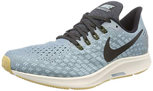 Nike Air Zoom Pegasus 35, Scarpe da Running Uomo, Blu (Aviator Grey/Black/Blue Fury 015), 42 EU