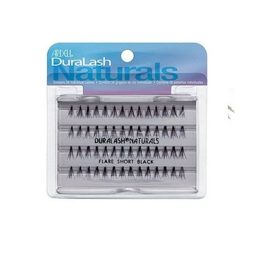 (3 Pack) ARDELL False Eyelashes - Duralash Short Black by Ardell