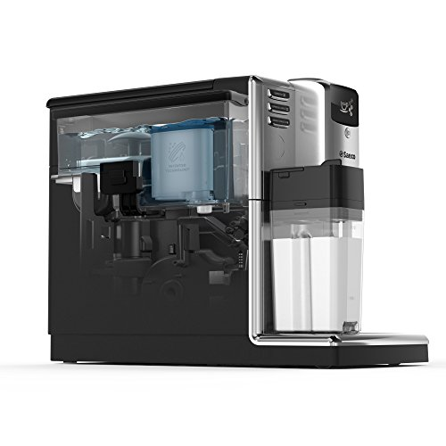 Saeco HD8917/01 Incanto Kaffeevollautomat (1850 Watt, AquaClean, integrierte Milchkaraffe) silber - 6