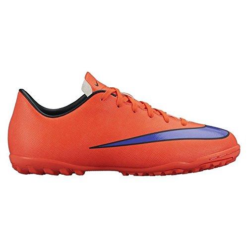 Nike  Mercurial Victory V TF, Chaussures de Football mixte enfant Rose/Violet