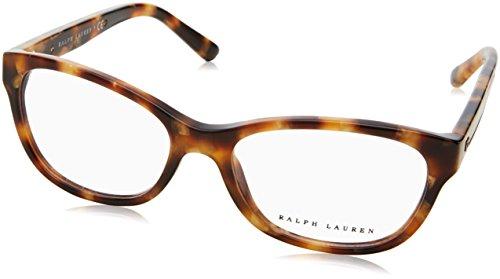 Ralph Lauren - RL 6155, Rechteckig, Acetat, Damenbrillen, HAVANA(5615), 52/16/140
