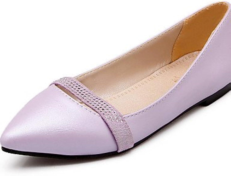 ZQ YYZ Zapatos de mujer - Tac¨®n Plano - Puntiagudos - Planos - Oficina y Trabajo / Casual / Fiesta y Noche /...