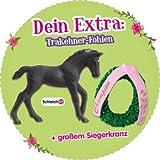 schleich Horse Club Das Große Reitturnier Trakehner-Fohlen mit Siegerkranz - original von Schleich