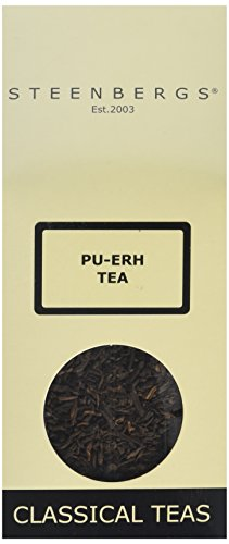 Steenbergs Organic Pu Erh Tea 100 g (Pack of 4)