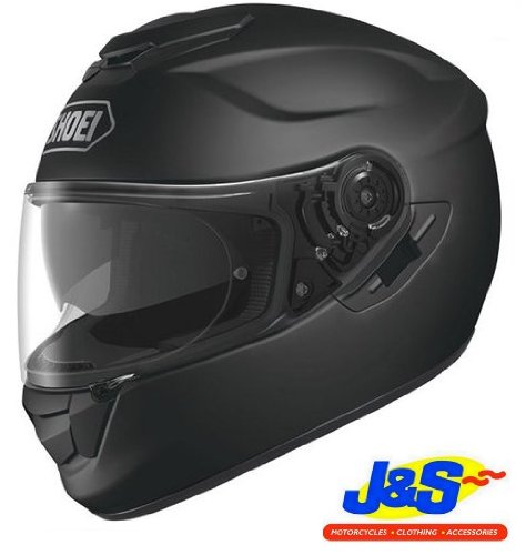 SHOEI GT AIR HELMET MOTORCYCLE TOURING INNER VISOR MOTORBIKE 2013 J&S (EXTRA SMALL, MATT BLACK)