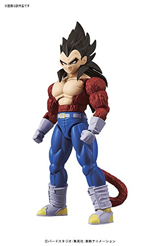 Bandai Hobby- Vegeta Super Saiyan 4 Model Kit 14 cm Dragon Ball GT Figure-Rise Standard 84087P, Multicolor (BDHDB144984) 2
