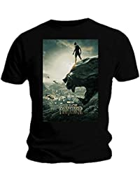 Ripleys Clothing Official T Shirt Marvel Avengers Black Panther Movie 'Poster' All Sizes